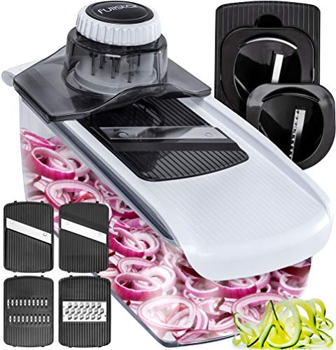 Mandoline Vegetable Slicer Spiralizer for easy shredding of vegetables