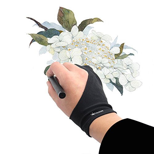 Huion Artist Glove for Drawing Tablet (1 Unit of Free Size, Good for Right Hand or Left Hand) - Cura CR-01