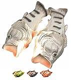 Plage Creative Poisson Chaussures Unisexe EVA Douche Pantoufles D'été Enfants Animal Drôle Antidérapant Résistant à l'usure Sandales (42/43 EU, Noir 3)