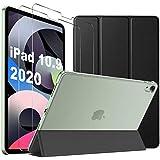 IVSO Coque iPad Air 2020 + Verre Trempé pour iPad Air 2020 (2 pièces),...