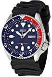 Gents Rubber Analogue Automatic Movement Military Blue dial and Black strap or bracelet Diver's 200mt