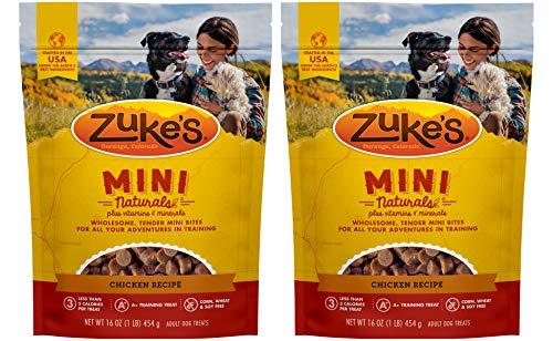 Zuke's Mini Naturals Dog Treats(2 Packs, totally 2...