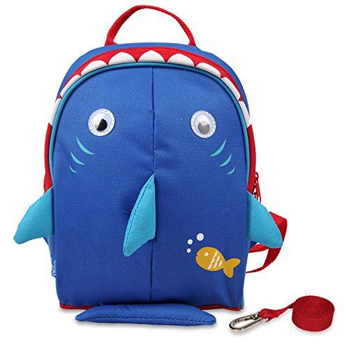 Yodo Kids Insulated Toddler Backpack with Leash Safety Harness Lunch Bag