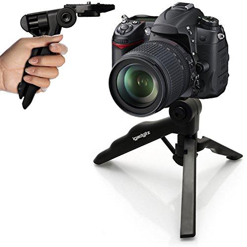 iGadgitz 2 in 1ピストルグリップスタビライザーミニテーブルトップスタンドTripod for Sony・Eマウントカメラilce-5000 ilce-5100、ilce-6000、ilce-7 ilce-7 m2 ilce-7r ilce-7s、nex-3 N、nex-5t、NEX - 6、NEX - 7