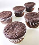 Low Carb Chocolate Muffin | Fluffy, Gluten Free, Low Carb Muffins| 3.0g Net Carbs per Serving | No Sugar Added Sweets & Treats | Diabetic & Paleo Diet Friendly | 6 Cupcakes