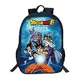 Cronell Story Hombres Mochila De Dibujos Animados Anime Dragon Ball Sun Wukong Imprimir Bolsa De Hombro Niños Cómodo Bolsa De Estudiante (3)