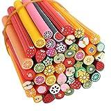 Xiton Nail Art Pack Accessoires 50 Mignon Nail Art Manucure Canes Fimo Sticks...