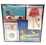 Handmade All Occasion Greeting Card Collection, 25-Count by BURGOYNE