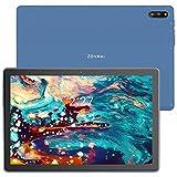 ZONMAI MX2 Tablet 10.1 Pulgadas Android 10.0   Tableta 5G WiFi Ultrar-Rápido Quad-Core 1.6GHz 4GB RAM + 64GB ROM   5MP + 8 MP 8000mAh Bluetooth 5.0 GPS Type-C Google GMS - Azul