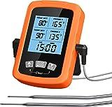 Cocoda Thermometre Cuisine, Thermomètre Cuisson au Four Étanche avec 6,4'...