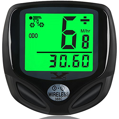 8. 007KK Bike Speedometer and Odometer with Automatic Wake-up Multi-Function