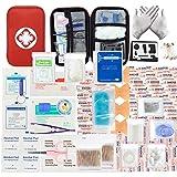 MOKIU 234pcs Trousse de Premier Secours Trousse de Secours Complete médical Boîte de d'urgence de...
