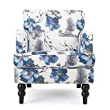 Christopher Knight Home Boaz Fabric Club Chair, Floral Print