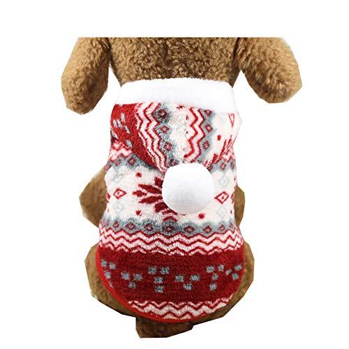 Morbuy Ropa de Perros Gatos, Chaqueta Abrigo Cálido Suéter