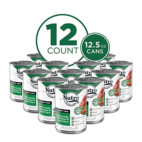 NUTRO HEARTY STEW Adult High Protein Natural Wet...
