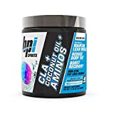 BPI Health CLA + Coconut Oil + Aminos, Non Stimulant Fat Loss Supplement Powder, Boost Weight Loss, Maintain Lean Muscle, Snow Cone, 40 Servings, 11.28 Ounce