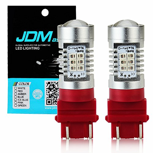 JDM ASTAR Extremely Bright PX Chips 3057 3157 4057 4157 Red Brake LED Bulb