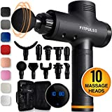 Muscle Massage Gun for Athletes - Percussion Massager Deep Tissue Massager Percussion Massage Gun Massagers for Muscles Handheld Deep Tissue Massage Gun Deep Muscle Massager Gun Muscle Gun Massager