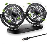 Ventilateur USB STLOVe Mini Fan Double Tête Rotation...