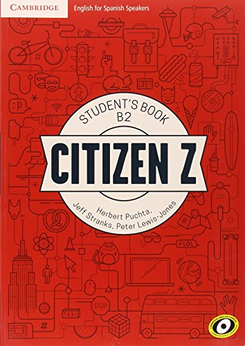 Citizen Z B2 Student's Book with Augmented Reality - 9788490360835
