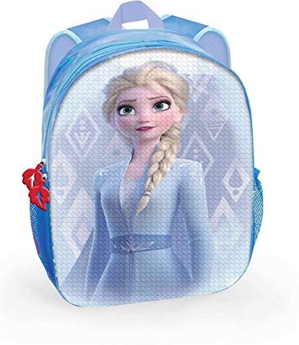 Toy Bags Mochila con Lentejuelas Reversibles, Unisex niños, Azul, 24x30x9