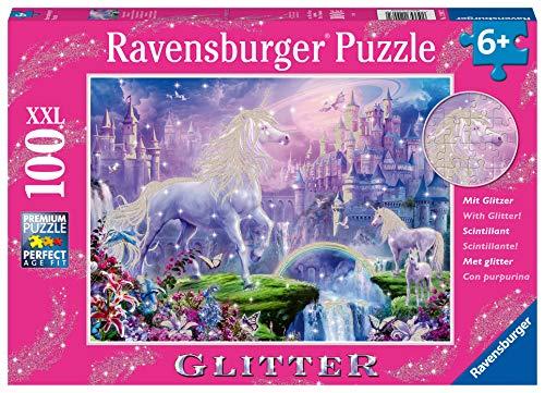 Ravensburger Puzzle - Regno Unicorno Puzzle 100 XXL, 12907 2