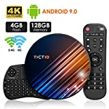 Android 9.0 Android TV Box 【4 Go + 128 Go】 TV Android Box + Clavier...