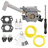 RY08420A Carb for Ryobi Bp42 Carburetor 308054079 RY08420 Backpack Blower Engine Lawn Mower Snowblower with Repower Parts Kit