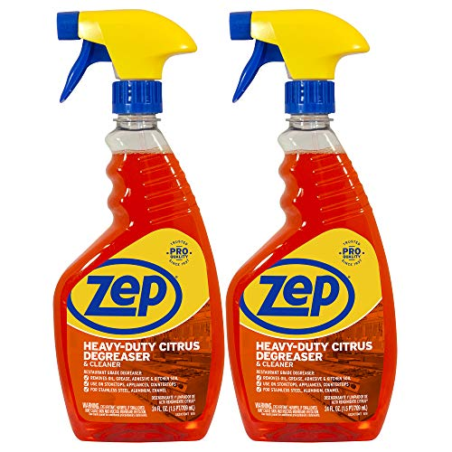 Zep Heavy-Duty Citrus Degreaser and Cleaner 24 ounce (Case of 2) -...