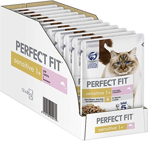 Perfect Fit Sensitive 1+ – Nassfutter für erwachsene, sensible Katzen ab 1...
