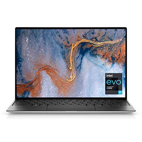 Dell XPS 13 (9310), 13.4- inch FHD+ Touch Laptop - Intel Core i7-1185G7, 16GB 4267MHz LPDDR4x RAM, 512GB SSD, Iris Xe Graphics, Windows 10 Pro - Platinum Silver with Black Palmrest (Latest Model)