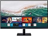 Samsung LS32AM502NRXEN - Monitor Smart de 32'' FullHD, 1920x1080, Smart TV Apps, TV Plus, Altavoces, WiFi, Bluetooth, VA, diseño sin Marcos, Negro