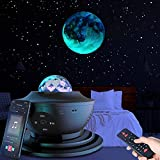 Star Projector Starry Night Light Projector with Speaker, Ocean Wave Ceiling Light Projector , Led Star Constellation Projector for Kids Adults Bedroom/Decoration/Birthday/Party