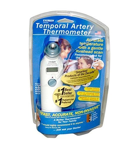 EXERGEN TEMPORAL ARTERY THERMOMETER TAT-2000C SCAN (Original Version)