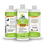 Premium Pet Dental Water Additive for Dogs Cats & Small Animals-Dog Dental Care for Bad Pet Breath-Oral Mouth Care That Fights Tartar, Plaque and Gum Disease- [17 oz] Dog Toothpaste Deodorizer(1btl)