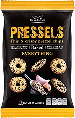 Thin and Crispy: Pretzel bags containing delicious mini crisps packed with flavor and baked to perfection. A perfect snack to satisfy that hunger craving wherever you are. Add this to your daily routine as a quick on the go bite running errands, for ...