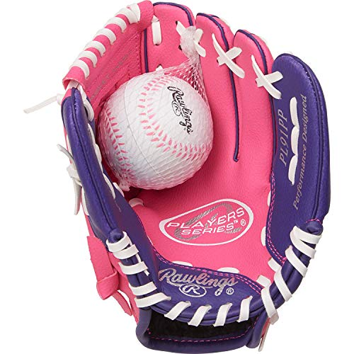 Rawlings Players Series Youth Tball/Baseball Gloves (Ages 3 to 5)