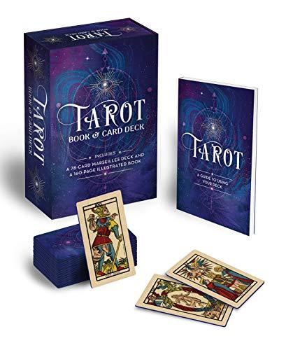 Tarot Book & Card Deck: Includes a 78-Card Marseilles Deck...