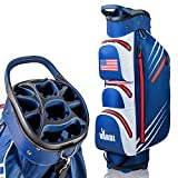 VARDI Lightweight Golf Cart Bag, 14 Way Organizer Full Length Divider Top