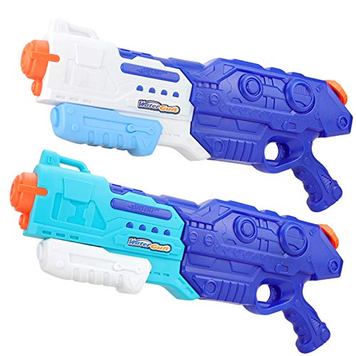 VEARMOAD 1500CC Squirt Water Gun for Kids Adults, Fast Trigger, 49 Feet Distance Coverage, Ice-Cold Water Shootout, Beach Party, Pool Party, Safe, Durable