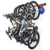 Sunix Support Mural de Rangement pour vélo, Vélo Rack de Stockage Porte-vélos...