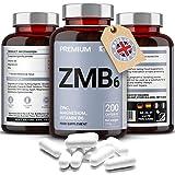 Zinc, Magnesio, Vitamina B6 - Alta Resistencia y Fácil de Tragar - Promueve la...