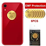 6Pcs - EMF Protection Cell Phone Sticker, Anti Radiation Protector Sticker, HUAGASION EMF Blocker for Mobile Phones, iPad, MacBook, Laptop and All Electronic Devices