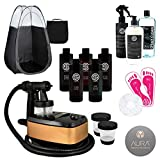 Allure Spray Tanning Machine System with Sjolie Natural Airbrush Tan...