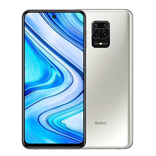 "Xiaomi Redmi Note 9 Pro Smartphone - 6GB 64GB 6.67"" DotDisplay 64MP AI Quad Camera 5020mAh (typ)* NFC Blanco [Versión Global]"