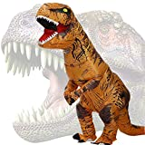 JASHKE Costume Dinosaure Gonflable Deguisement Trex Gonflable Deguisement...