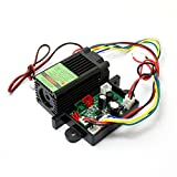 12V Green Diode Lasers 532nm Laser Module Dot with TTL 0-30KHZ & Fan Cooling - Long Time Working