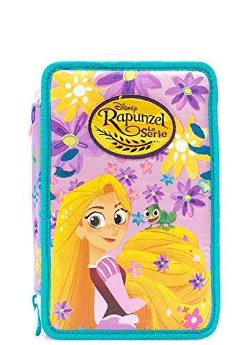 Astuccio tre piani Rapunzel Disney Princess Seven