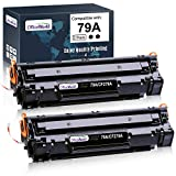 OfficeWorld Compatible Toner Cartridge Replacement for HP 79A CF279A (Black, 2-Packs), for use in HP Laserjet Pro M12w M12a M26nw M26a Printer