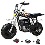 X-PRO 40cc Kids Mini Dirt Bike Mini Pit Bike Dirt Bikes Motorcycle Gas Power Bike Off Road (Black)